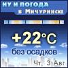 Ну и погода в Мичуринске - Поминутный прогноз погоды